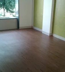 PVC Vinyl Flooring Plank, For Home, Thickness: 6 Mm