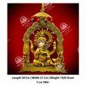 Golden Metal Kala Lord Ganesha God Statue