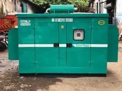 50 Kva Tata Silent Diesel Generator Set.