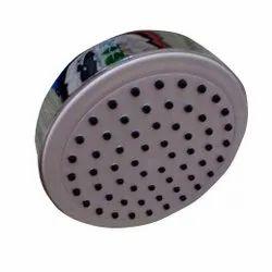 4 inch Round Max Black Nozzle Shower