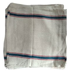 White Cotton Kitchen Napkin, Size: 20x20cm