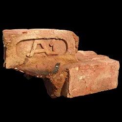 Clay Cuboid Red Brick Mitti Wali Brick - Jhawa, Size: Random