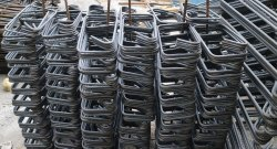 Mild Steel Stirrups, For Construction, Grade: Fe 500