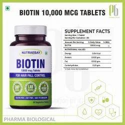 Nutraebay Biotin Tablets