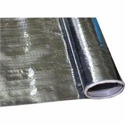 Silver Metallic Laminated Non Woven Fabric