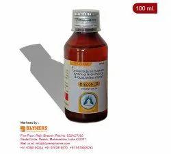 Blycof-LS Levosalbutamol, Ambroxol and Guaiphenesin Cough Syrup, 100 ml