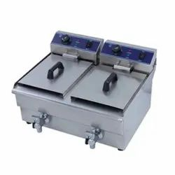 Double Tank Electric Deep Fryer