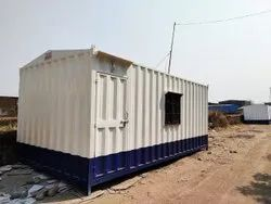 SITE OFFICE CONTAINER WITH TOILET AND PANTRY
