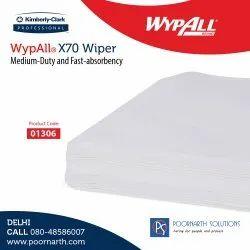 Wypall X70 / Flat Sheet / Blue / 25.4 Cm x 25.4 Cm, 1112