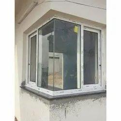 UPVC Glass Bay Window