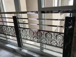 SS Balcony Railing, For Home