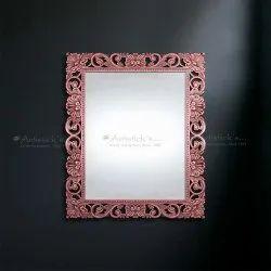 Contemporary Metal Mirror