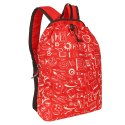 Bnp0274- Printed College Casual Unisex Daypack Backpack 15l