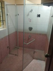 Bathroom Glass Shower Panel