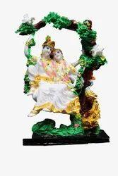 Miniature Radha krishna idol