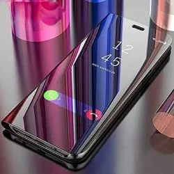 Silicone Transparent Flip Mobile Cover