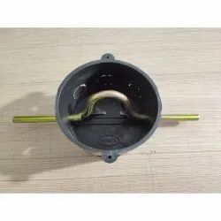 PVC Electric Ceiling Fan Box Round, For Electrical Fitting, 7inch