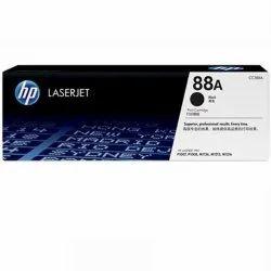 Black Laser 88A HP Toner Cartridge, For Printer, Model Name/Number: CC388A