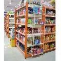 Supermarket Center Display Rack