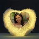 Sublimation LED Heart Cushion