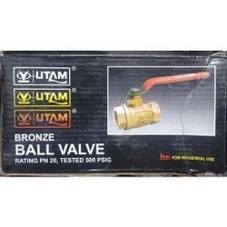 1 Inch Utam Bronze Ball Valve