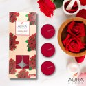 AuraDecor Fragrance Tealight Candle Pack of 10