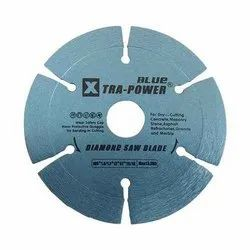 Silver Diamond Tip Marble Cutting Blade, Size: 4 Inch
