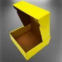 Plain Yellow 3 Ply Corrugated Box