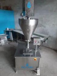 Semi Automatic Talcum Powder Filling Machine