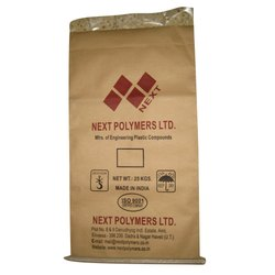 Printed Kraft Paper Laminated HDPE Woven Bag
