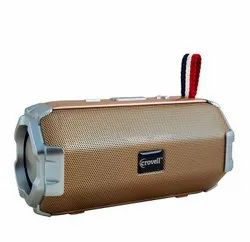 Drumstone Cv-118 Portable Wireless Speaker With Boom Bass Gold