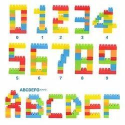 Plastic Building Block Toy