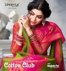 Formal Wear Printed Lifestyle  Cotton Club Vol 1 Presenst By Saree