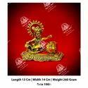 Polished Golden Krishan Statue
