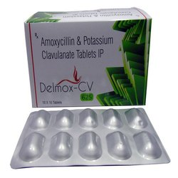 Delmox-CV Amoxycillin and Potassium Clavulanate Tablets