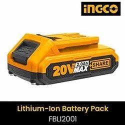 FBLI2002 Ingco Tools 20V 4.0Ah Lithium-Ion Battery