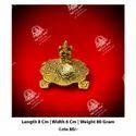 Golden Ganesh Diya Statue
