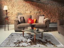 Beautiful Wool Hand Loom Floor Carpet,Knotted Carpet,Soft Wool Viscose Area Rug