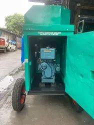 Kirloskar 15 kw bajaj-m soundproof diesel generator set with trolley mounted., Single Phase