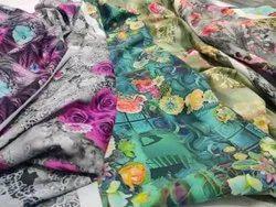 Rayon Fabric Printing Service, Width: 38inch