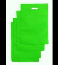 D Cut Plain Non Woven Shopping Bag