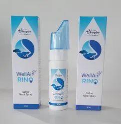 GENESIS BIOTEC Normal Saline Nasal Spray, For Commercial, Packaging Type: Bottle