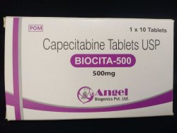 Capecitabine Tablet USP 150mg / 500mg / 1000mg