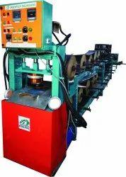 Six Roll Paper Plate Making Machine