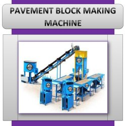 Pavement Block Making Machine