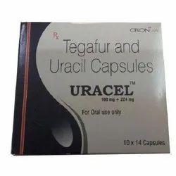 Uracel 100 Mg 224 Mg Tegafur Uracil