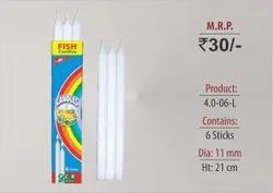 Plain Long Candles 4.0-06-L