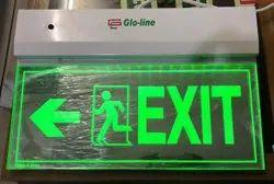Laser Exit Signages