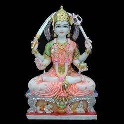 Goddess Santoshi Mata Marble Moorti