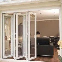 UPVC Glass Sliding Folding Doors
